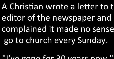 This letter a Christian wrote to a newspaper should go VIRAL