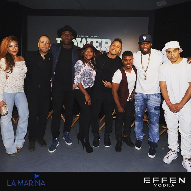 RT @effenvodka: The cast of @Power_Starz at the #PowerTV premiere party last week. #EFFENVODKA @50cent http://t.co/YQfjcb3ZH9