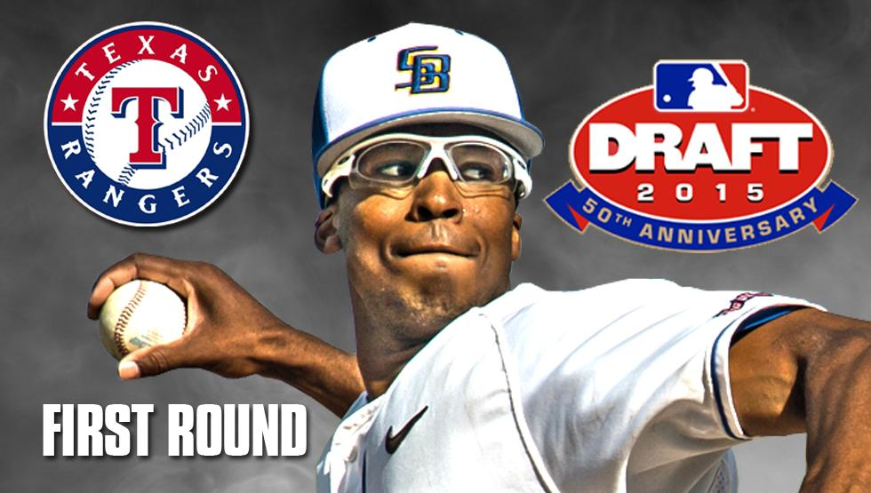 Say hello to @UCSB_Baseball's first-ever 1st rounder. Congrats to a great Gaucho, Dillon Tate! http://t.co/OSy3WQWjvv http://t.co/qsVD107lru