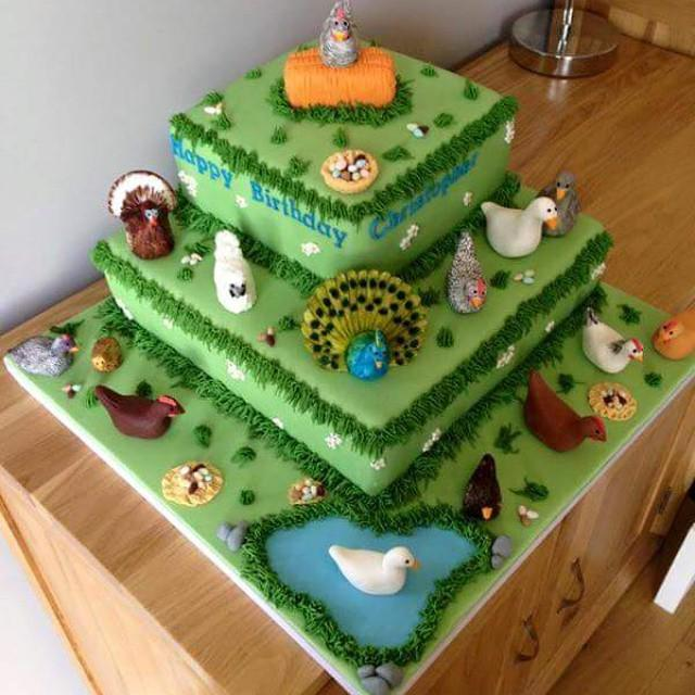 Chris Bennett's Birthday Cake #chickenhour #foodporn http://t.co/uHBBGBYZjn