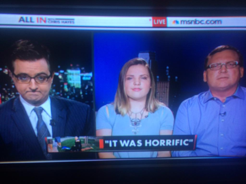 Attendee Grace Stone corroborating white adults struck the kids first after hurling racist slurs. #McKinney #inners http://t.co/R0P9eoRe59