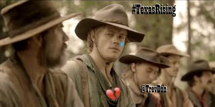 """""""I don't know what's ailing you, son, but you leave it here at camp."""" Fix that broken heart, @TrevDon! #TexasRising http://t.co/I6SYM66fzJ"""