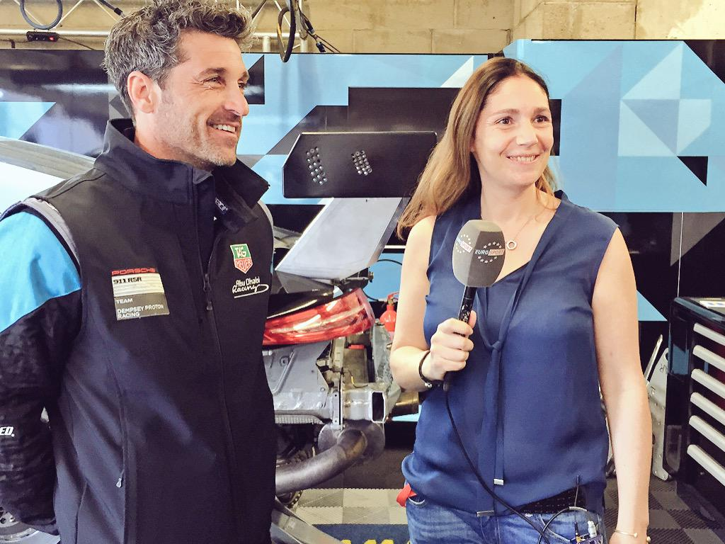 Tonight's #LeMans24Mins @Eurosport is SO packed we're saving Adélaïde's interview with @PatrickDempsey until Thursday http://t.co/pYPJqOo2OJ