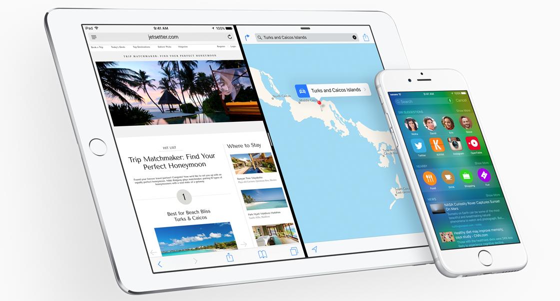 Apple WWDC 2015'te iPhone ve iPad'leri baştan sona değiştirecek iOS 9 tanıtıldı. http://t.co/kj9plo8lOO http://t.co/n4FfPuoNbG
