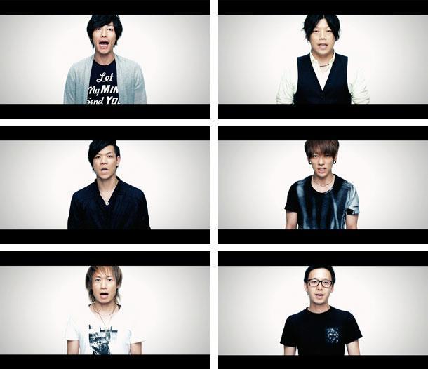 UVERworld、200名のファンの「言葉」が紡ぐミュージックビデオ公開 http://t.co/arCPorM7e2 http://t.co/kzw7U6pgAM