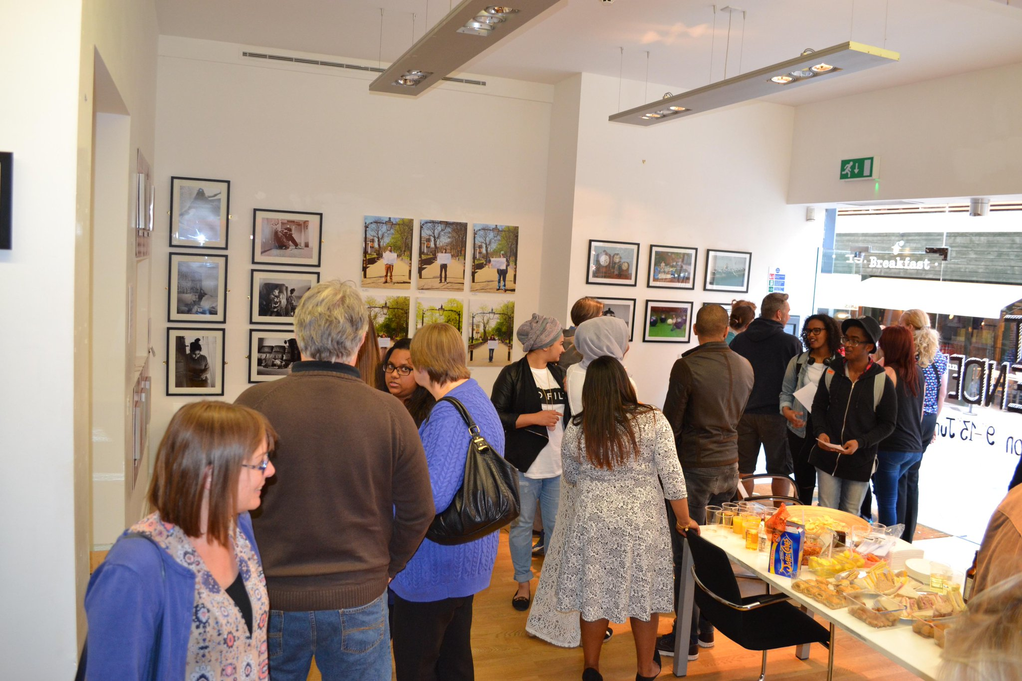 RT @wotspace: Fantastic turnout for #AMomentSuspended #Exhibition by 2nd year @leicestercoll Photography students 9-13th June. http://t.co/pgQjmegwVP