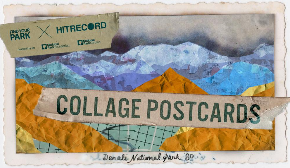 RT @hitRECord  GRAPHIC DESIGNERS: Come make Nat'l Park mixed media postcards w/ us - http://t.co/FnE4X1Ey6x http://t.co/XKbyw4K7p5