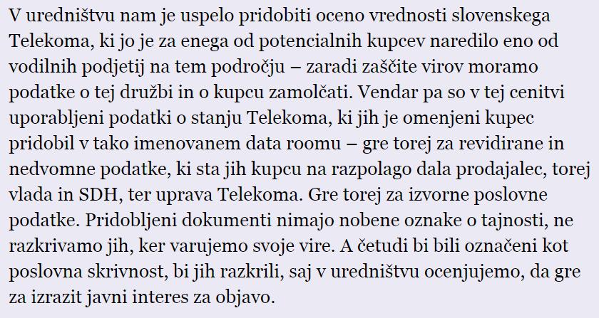 Laž o Telekomu. Ne morejo se izgovarjati, da tega niso vedeli. Piše @gregarepovz   http://t.co/Z4Ri7IgVWA http://t.co/z0clzqwQv0
