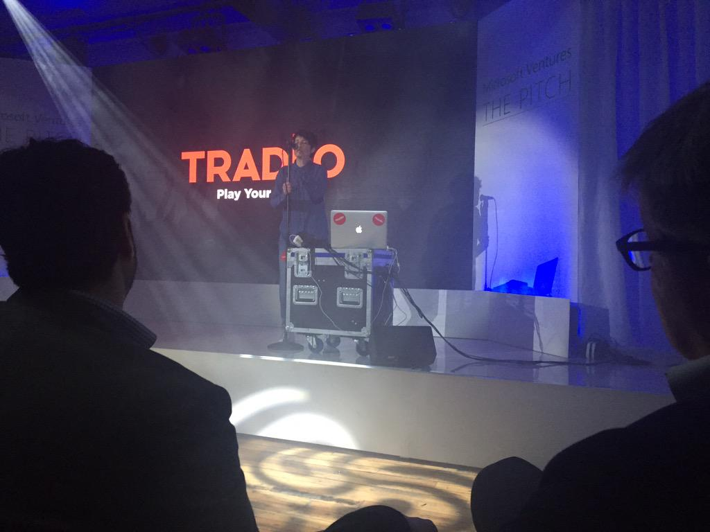 RT @jagsingh: Pretty cool to have @isauramusic perform live as an intro for startup @Tradiio  #MSVpitchUK http://t.co/QZCqCFRjYu