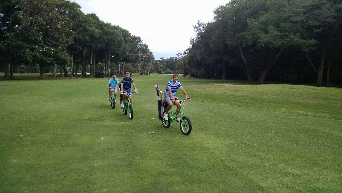 Guests are loving the #golf bikes! Book your tee time and try one out! http://t.co/evQ6WV64vM http://t.co/Alc7b2X8G1