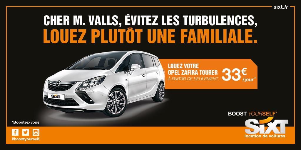 Cher M. Valls, évitez les turbulences, louez plutôt une familiale. #Valls #VallsGate http://t.co/WnGyNTegmD
