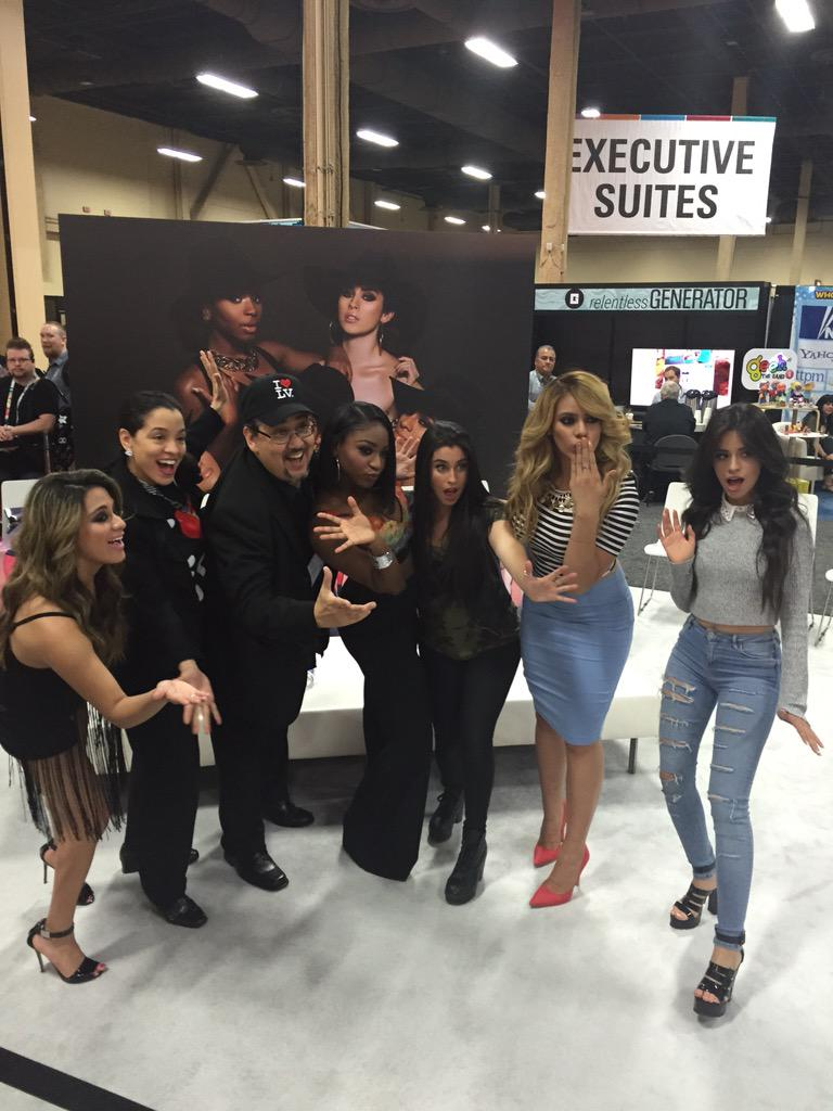 Happening now! Meet @fifthharmony @ Booth T197 @SonyMusicGlobal #licensing15 #vegas http://t.co/KMpP6TIttg