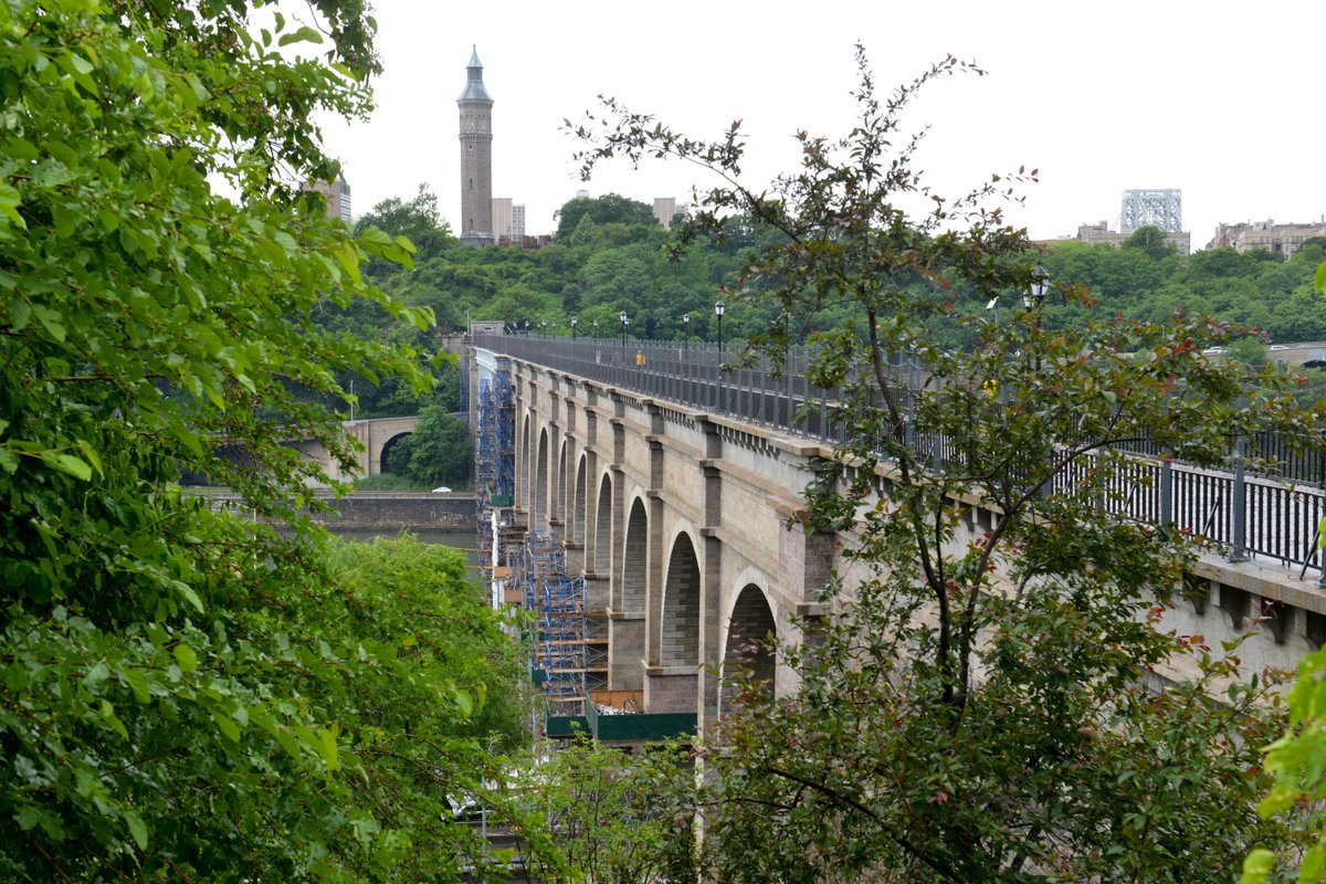 Newly opened #HighBridge made modern NY possible, linking Manhattan to an upstate water supply http://t.co/jBsH0GVa8G http://t.co/CaOV7J6wN6