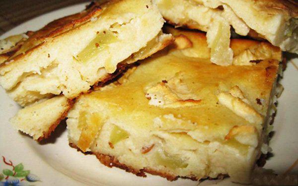 Запеканка творожная с яблоками в духовке без манки рецепт