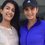 RT @leezamangaldas: Catching the phenomenal @MirzaSania in action at her tennis academy for Times Now. #NumberOne #TOISA http://t.co/vvUw10…