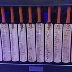 Collector's item...bats signed by all the teams from the 2011 World Cup. Found this at @StarSportsIndia http://t.co/ttN6mNcjR3