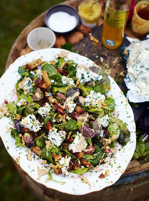 #Recipeoftheday Roquefort salad with warm croutons, lardons & a kick-ass mustard dressing http://t.co/APDQkQGQqG http://t.co/jWOCuAUFOv