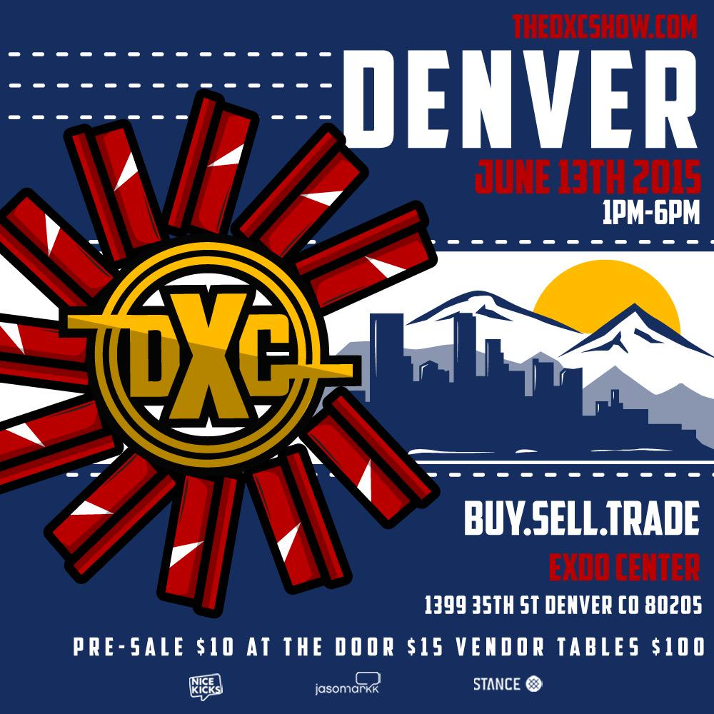 #DENVER!! We're in your city this Saturday, June 13th at the @EXDOEvents Center from 1-6pm. http://t.co/I7BDowhHRr http://t.co/rk7QekhJXh