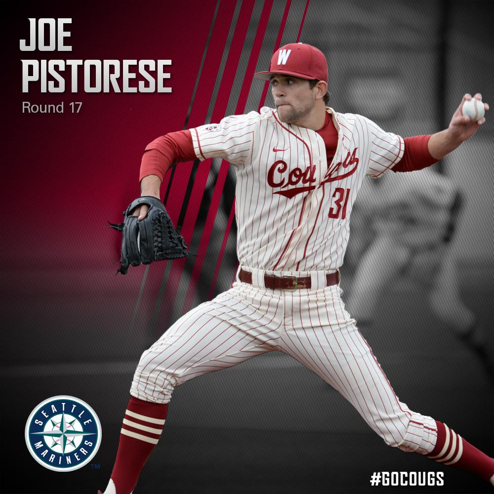The @Mariners are getting a good one! They just picked Joe Pistorese in the 17th round of the #MLBDraft! #GoCougs http://t.co/rSsTCaaPj7