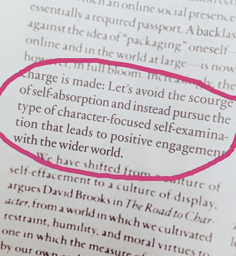 Loved reading this today: self-examination > self-absorption @PsychToday http://t.co/gfmSqBo9qD