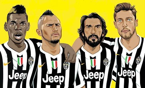 """Résultat de recherche d'images pour """"Pirlo Vidal Pogba Marchisio"""""""