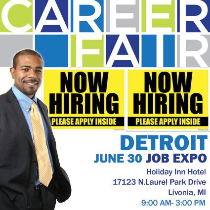 #Detroit Job Expo on 6/30 @ Livonia-@HolidayInn.Get Hired FASTER email your resume to Amy@expogiant.com #jobfair http://t.co/owQCpmW8Tf