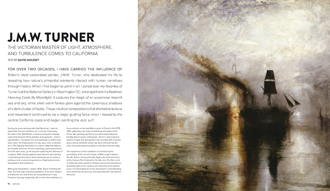 .@JuxtapozMag covers Victorian master J.M.W. Turner. Full article here: http://t.co/cH35s9lYZd http://t.co/mTGBKoFnlx