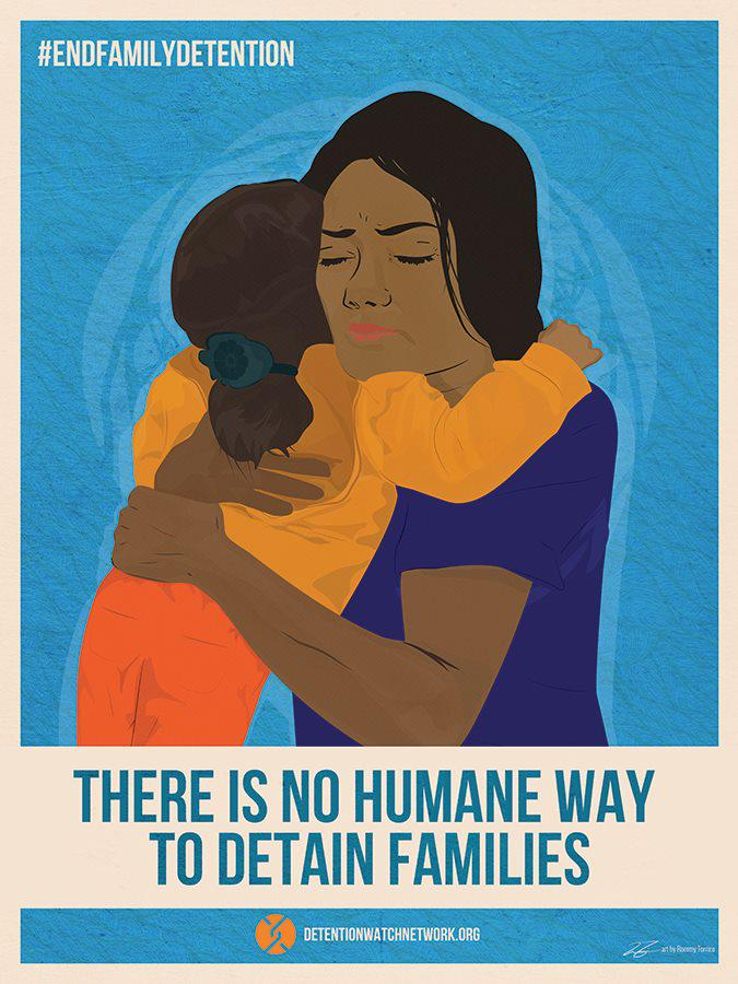 Stand for the rights of Women & Children @DHSgov #EndFamilyDetention Now! http://t.co/zmBgewnLUC