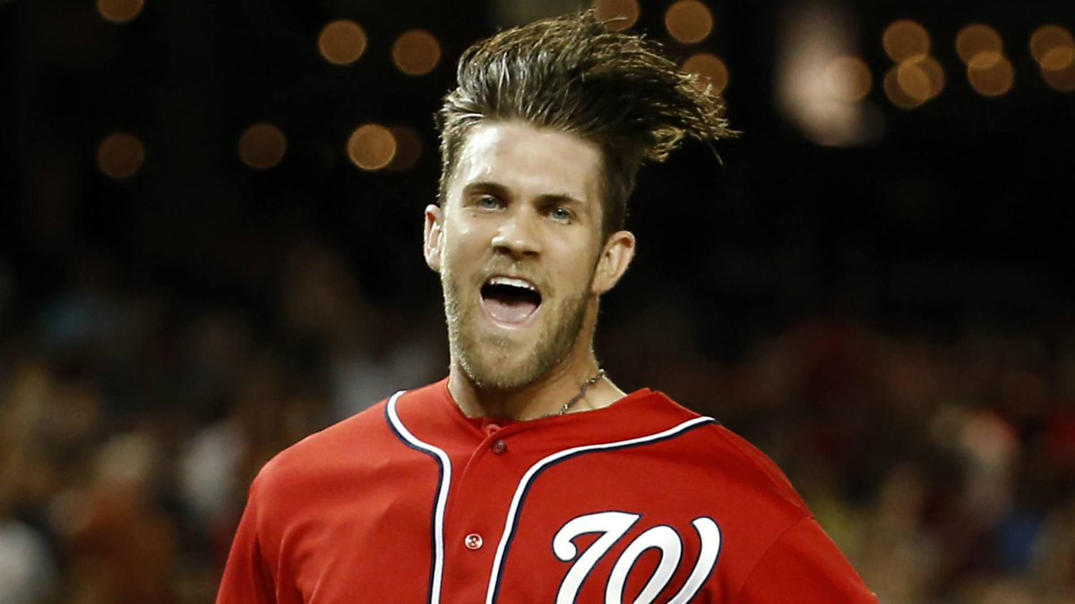He Didnt Just Wake Up Like This Bryce Harper Says It Takes 30