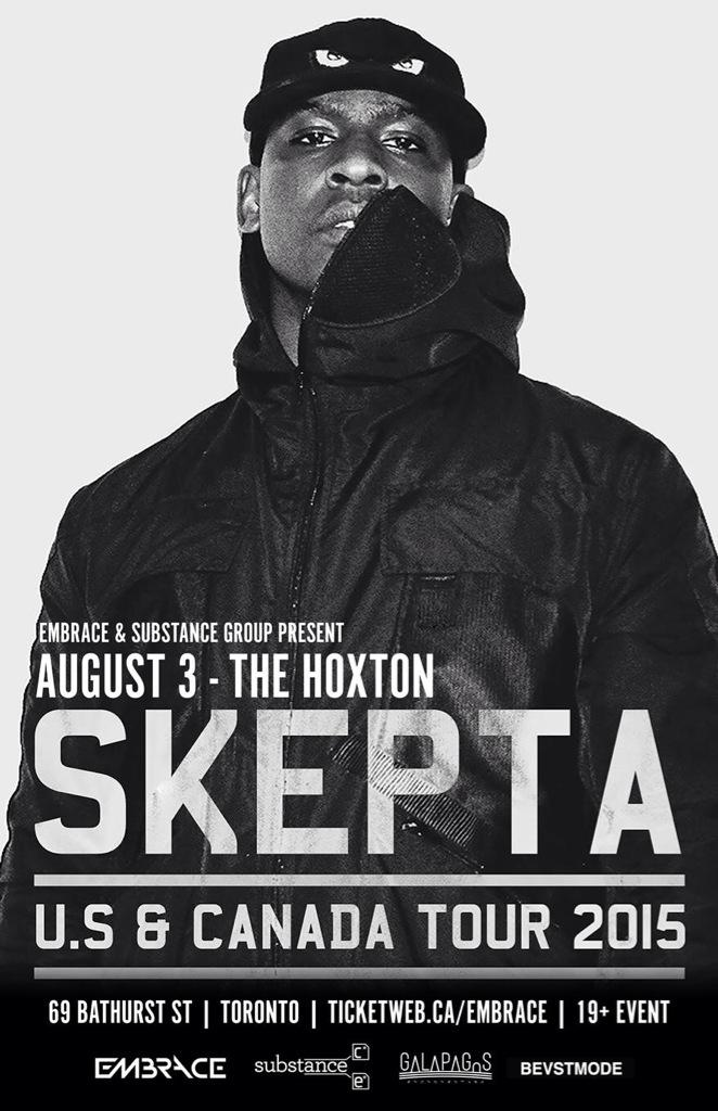 @Skepta's first time performing in Toronto. It's gonna be shutdown!!! ON SALE NOW - http://t.co/EZgyiRiuuQ http://t.co/kib8Y2IakF