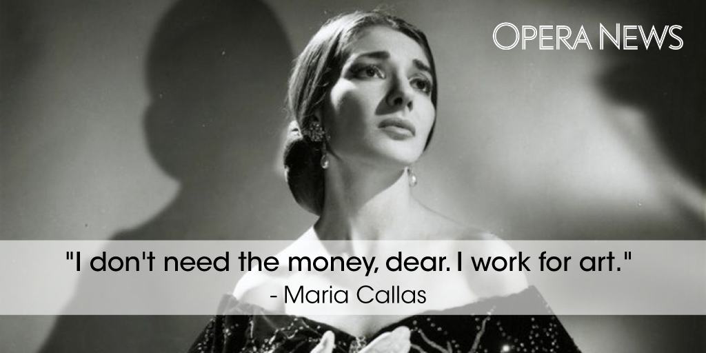 One woman who always had her priorities straight. #MariaCallas #WednesdayWisdom http://t.co/81gLZlVDCg