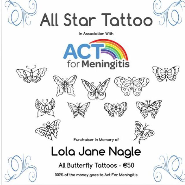 Here are the designs for this weekends fundraiser in memory of Lola. All info listed below, please share. Thank you
