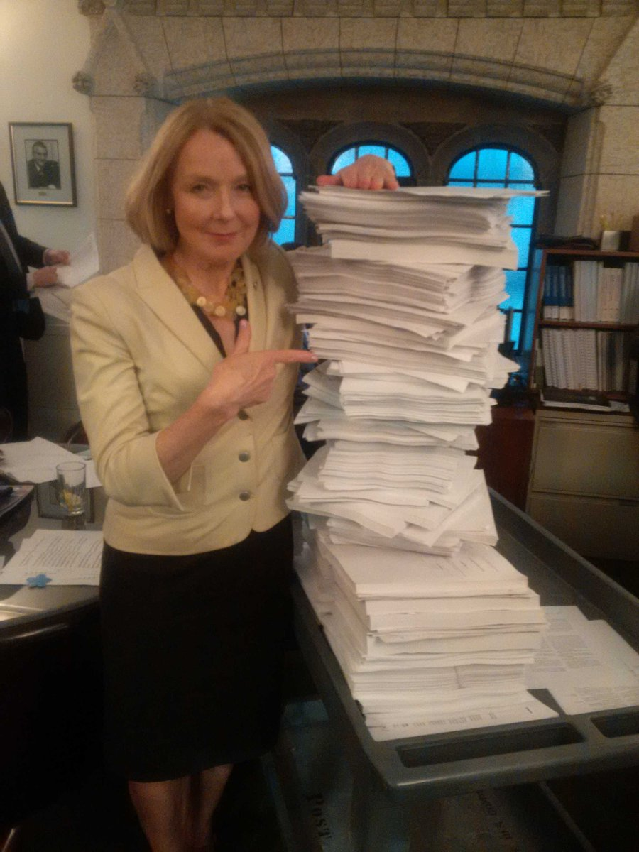 Here's the 100 Bills the Conservatives put time closure on. More than THREE TIMES any other govt in Cdn history. http://t.co/Yg3ExbH7Qh