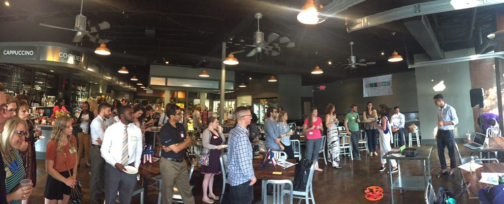 Kicking off #GovJamCLT at @EarlsGrocery...  http://t.co/WATPdLBkWe http://t.co/iwR89ZVWQG