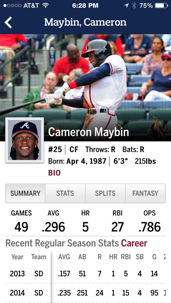 Maybin vs Heyward http://t.co/4gJGCTE5TU