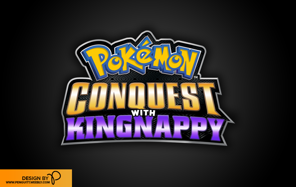 VERY happy to share with you all the new layout and logo for @TheKingNappy 's Pokemon Conquest series! http://t.co/6bqoTeHh1w