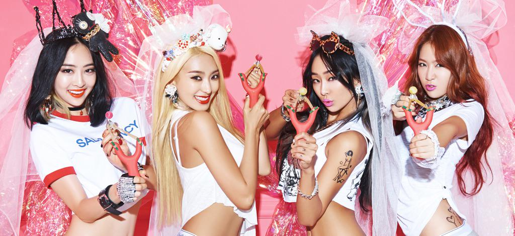 #SISTAR COMEBACK D-12, 'the evil charmer' The first official image! No C.... http://t.co/Uyg4yfIZm2 http://t.co/dDHxlsGFFd