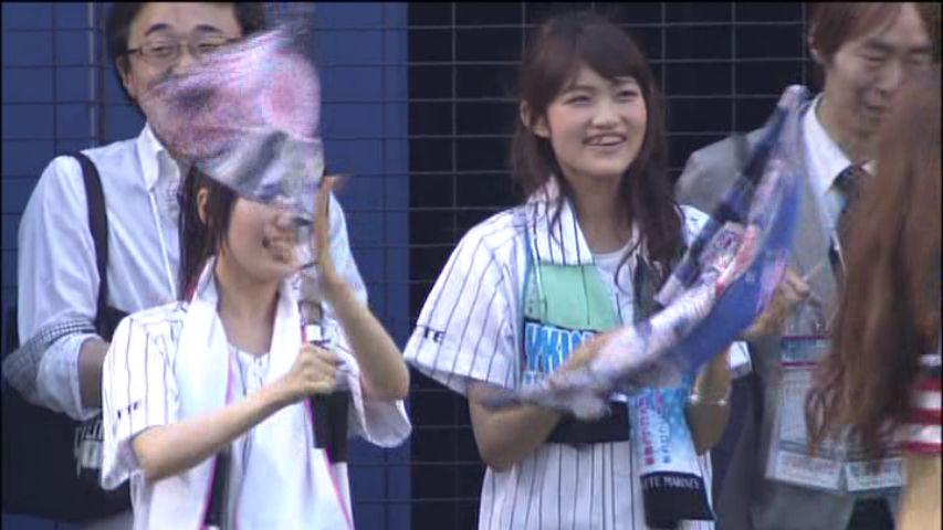 【画像】東山奈央ちゃんと早見沙織さんが始球式に登場