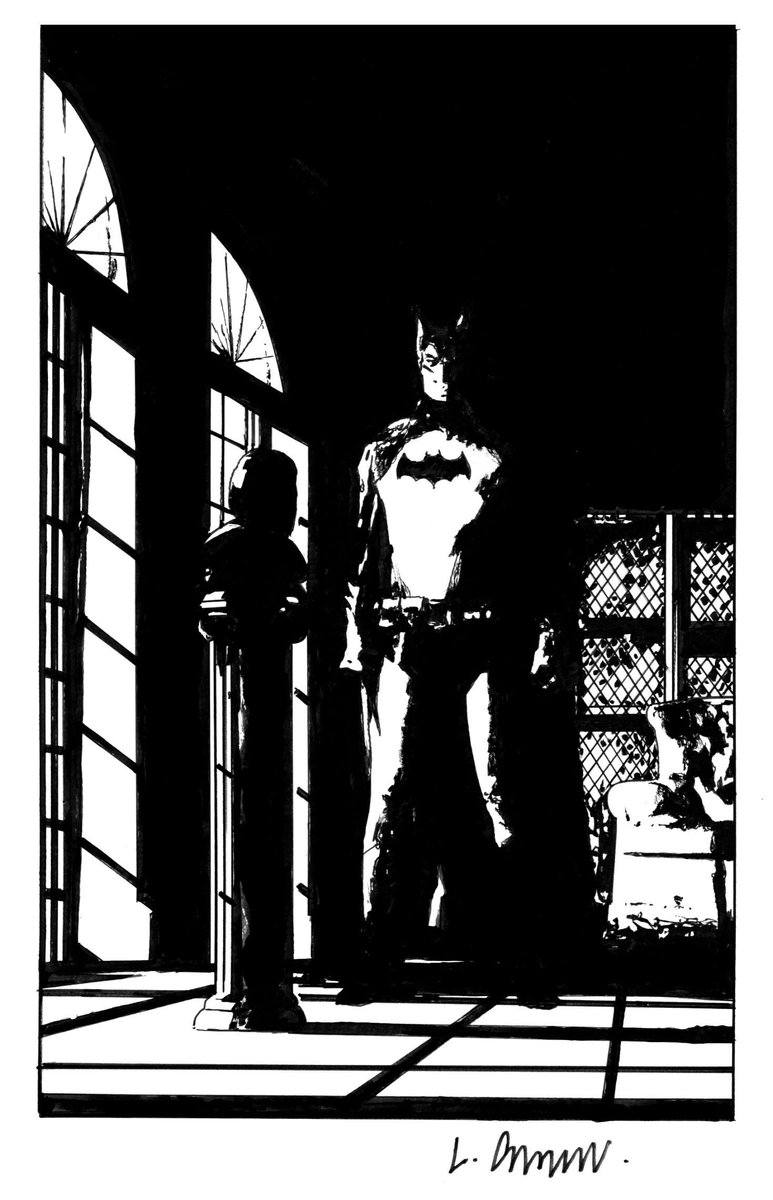 Batman Year 1 commission http://t.co/yKKBVHhvuP