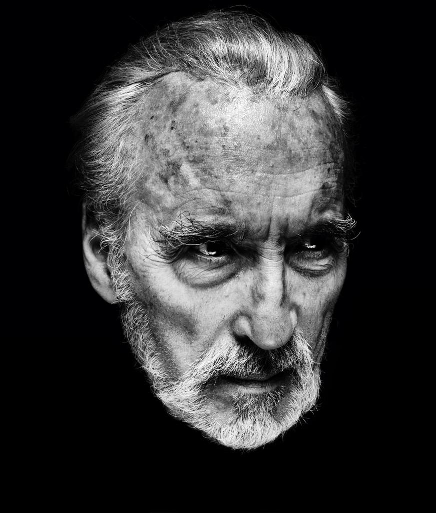 Christopher Lee, 1922 - 2015. Photo by Nadav Kander. http://t.co/dZwvBCxgYY