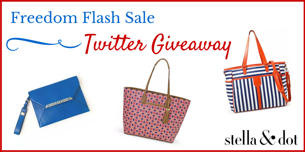 We've extended our Flash #Sale: http://t.co/1lavENBxcs! RT & follow for your chance to win a bag in our #giveaway http://t.co/zmCQdDbUhx