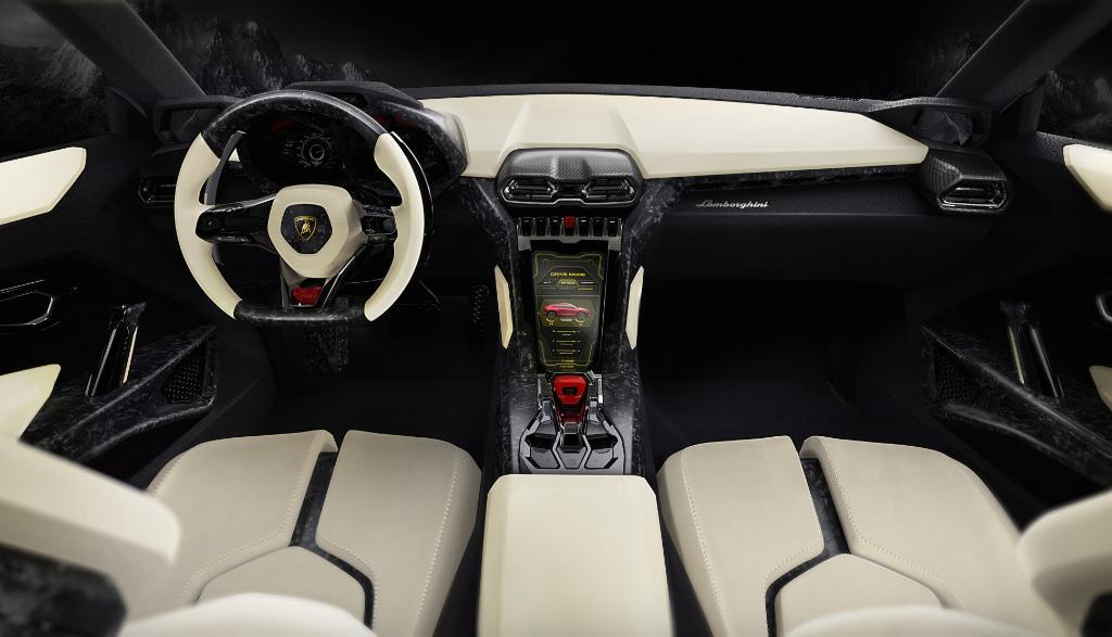 Get behind the wheel of the new Lamborghini SUV. http://t.co/vr7DXFDUzQ http://t.co/zfzducrUSQ