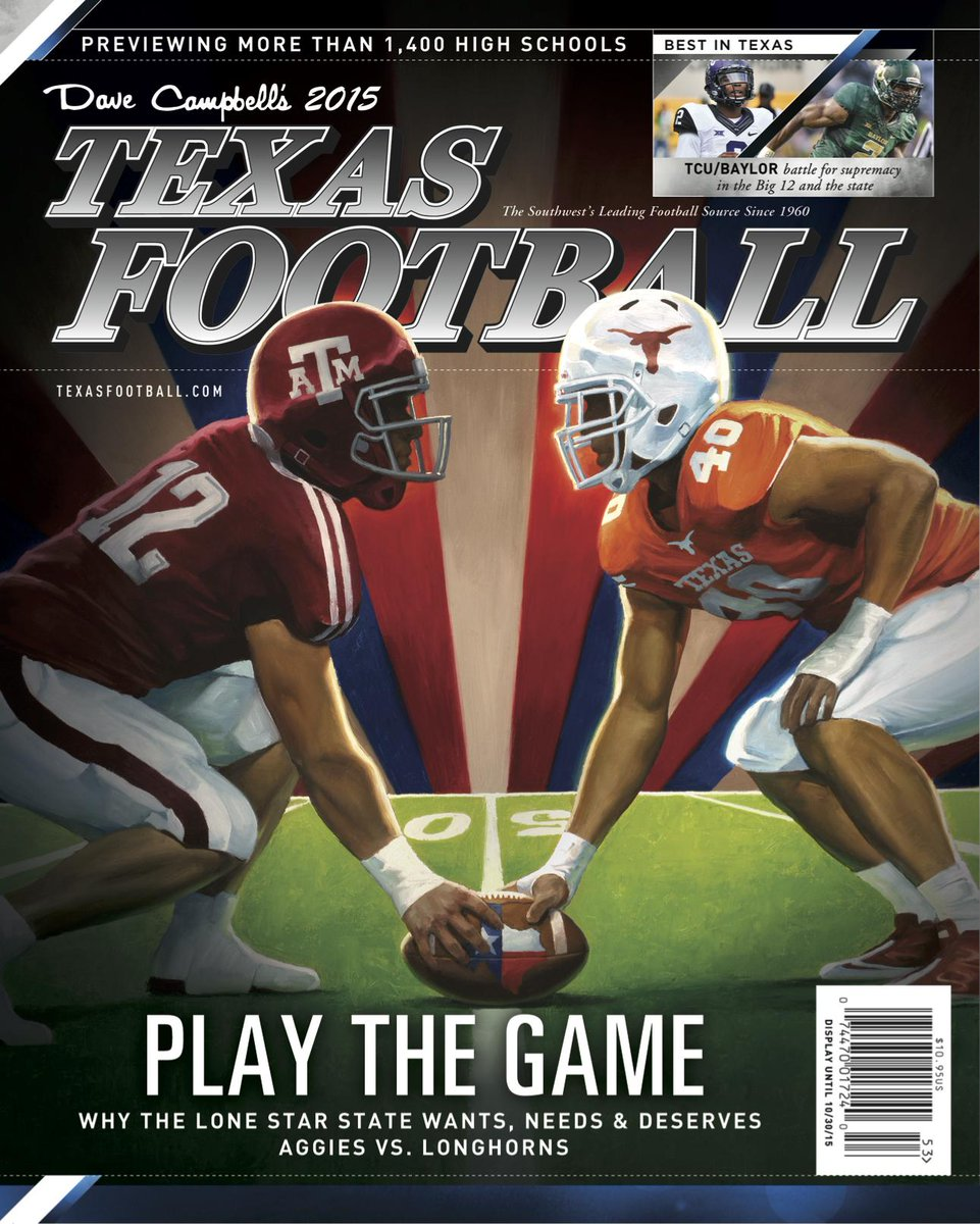 Proudly reveal the cover of the 2015 Summer Edition of Dave Campbell's Texas Football! http://t.co/ErNVErxVdv #txhsfb http://t.co/FavNTWM7Vp