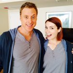 RT @ConManSeries: Look who started working today on #conman ! @feliciaday @alan_tudyk