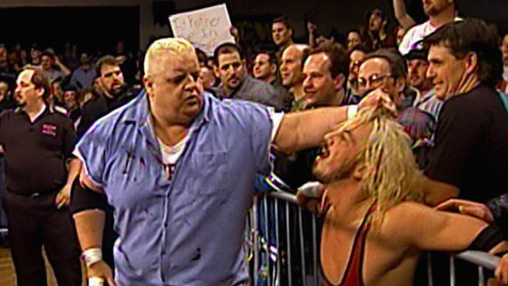 We used to butt heads in & out of the ring, but he was my hero. I owe my career to him, Hashimoto, & @HeymanHustle http://t.co/Rb41QlR7UW