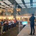 RT @Stammy: Standing ovation for @dickc. Thank you. http://t.co/5V6lraFuHT