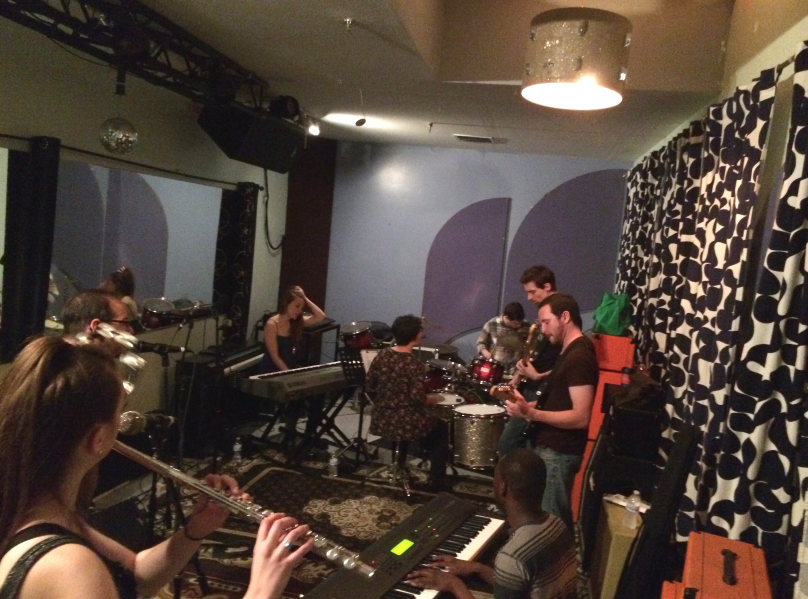 RT @hitRECord: Our hitRECord Community Band's in the studio as we speak, rehearsing