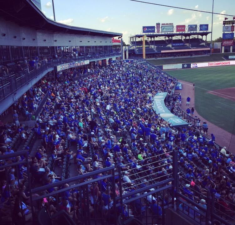 Looks like word got out in Georgetown that the Eagles are in the #UILState 5A Semis at Dell Diamond! http://t.co/DAH6DVLavG