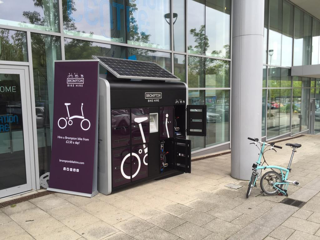 RT @BromptonHire: Today we're at day 2 of #ImagineFest at @TSCatapult with our new dock at The Pinnacle, Milton Keynes! http://t.co/RdI3hZsOFl