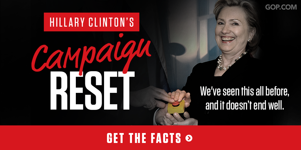 Hillary Clinton can't distract from bad headlines with a new campaign reset: